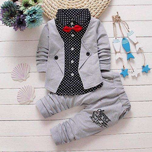 Culater-Kid-del-neonato-partito-vestito-convenzionale-battesimo-Wedding-Tuxedo-Bow