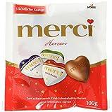 merci Herzen Mix Weihnachten, 14er Pack (14 x 100 g)