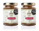 The Borneo Pantry Pot de Chutney Anglais à la pastèque 2 Pots de 200g Cuit à feux doux pour conserver les arômes Ingrédients naturels Recette familiale Vegan Produit Médaille d'or
