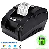 Terow Receipt Printer,Label Printer ,Barcode Printer with High Speed Printing ,Thermal Receipt Printer