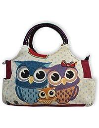 b9a64e13a4034 Eule Eulen Tasche Handtasche Henkeltasche    EULE    Shoppertasche  Schultertasche Eulenmotiv Umhängetasche - verschiedene Motive…