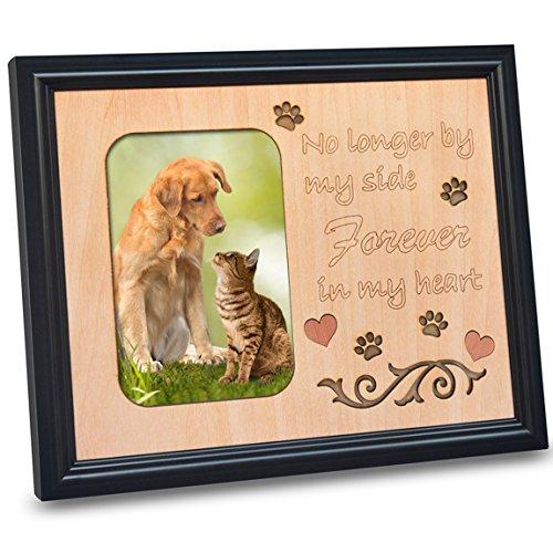 PETAFLOP Bildrahmen 10x15 mit Gedenktafel für Haustiere