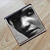 HELENA CHRISTENSEN - Original Art Coaster #js005 by Coasters - Models