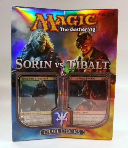Wizard of the Coast 82781 - MTG Duel Deck Sorin vs. Tibalt Englisch, Sammelkartenspiel