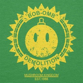 TEXLAB - Bob-omb Demolition - Damen T-Shirt Grün