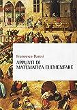 Appunti di matematica elementare