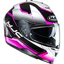 b8f080c8d7660 Casco Hjc IS 17 loktar MC8 Casco de Moto Casco Integral Mujer Decoración  con parasol y