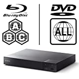 SONY BDP-S6700 4k Upscaling – 2D/3D – Wi-Fi – Blue Tooth – Multizone All Region Code Free DVD Blu Ray Player – 2M HDMI Lead Included – 100~240V 50/60Hz Worldwide Voltage AUTO – Comes with the UK Power Supply
