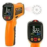 Janisa Termómetro Digital PM6530B Termómetros infrarrojos pistola laser temperatura Rango de -50...