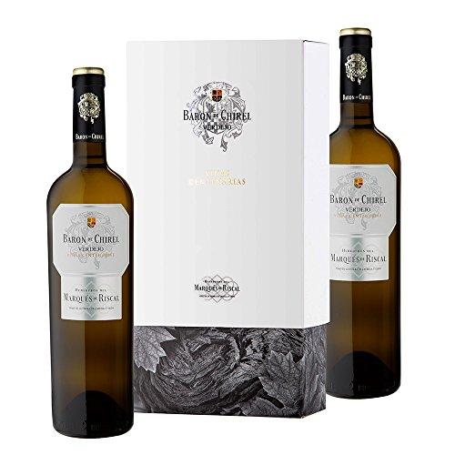 Estuche 2 Botellas Baron De Chirel Blanco Verdejo