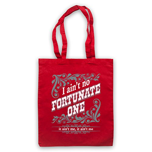Inspiriert durch Creedence Clearwater Revival CCR Fortunate Son Inoffiziell Umhangetaschen Rot
