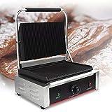 Commercial Jumbo 2 Bread Sandwich Griller (Silver)