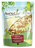 Food to Live frutta secca prime (anacardi. noci del Brasile. noci. mandorle) 453 grammi