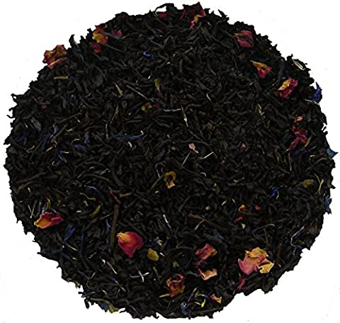 Simpli-Special Rose Earl Grey, Naturally Flavoured Black Loose Leaf Tea 100g.