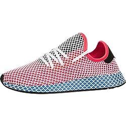 adidasCQ2624 - Cq2624 Hombres, (Solar Red/Bluebird), 11 D(M) US
