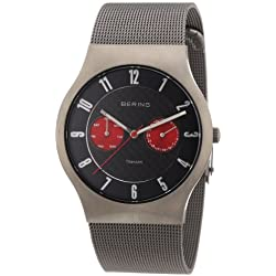 Bering Time Men's Quartz Watch Classic 11939-079 with Metal Strap