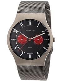 Bering Time Herren-Armbanduhr Classic Analog Edelstahl 11939-079