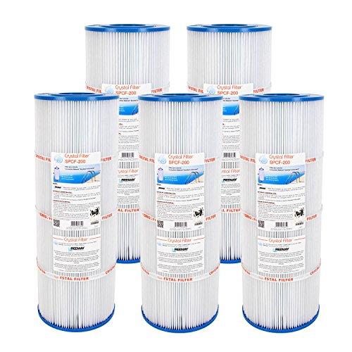 Filtre SPCF-200 - Compatible Waterair® Escatop® - Crystal Filter® (lot de 5)