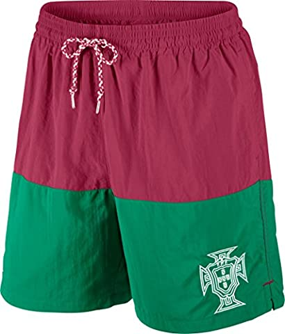 Nike t-shirt portugal covert team short pour homme L Rouge - Rouge/vert