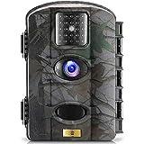 ARTITAN Caméra de Chasse 16MP 1080P Camera Animaux Imperméable IP65 Piège Photographique 65ft Vision Nocturne Infrarouge LEDs Basse Luminosité Traque IR Caméra