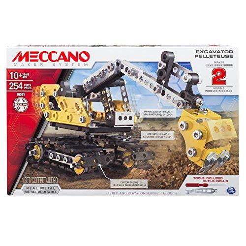 Meccano 6027036 - Excavator, Multicolore