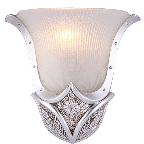 resina europea casco argento Soggiorno Lampade da parete Craft Creative camera da letto del monitor al posto letto luci da parete balcone classica parete corsia di apparecchi di illuminazione