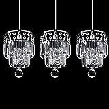 Fashion cristal K9lampe pendentif de Salle À Manger Cuisine simple Bar pendentif lumière couloir balcon lustre Fixations (1lumière)