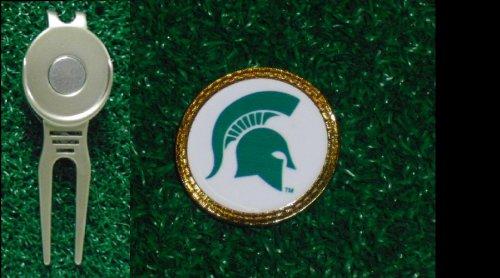 Gatormade Golf Ball Marker & Divot Tool Michigan state (Michigan State Divot)