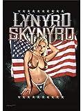 LYNYRD SKYNYRD FLAGGE FAHNE