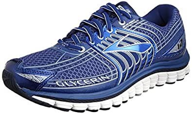 Brooks Glycerin 12 M, Men's Running Shoes, M.Blue/Silver/S