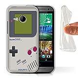 Stuff4® Gel TPU Hülle/Hülle für HTC One/1 Mini 2 / Nintendo Game Boy Muster/Spielkonsolen Kollektion