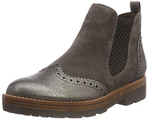 Marco Tozzi Premio Damen 2-2-25451-31 337 Chelsea Boots, Braun (Pepper Ant.Com, 42 EU