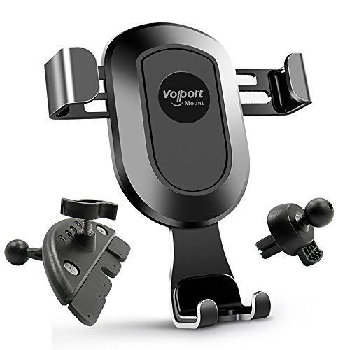 Auto-vent-mount-cd (Auto Air Vent CD-Schlitz Mount Gravity Handy Halter von volport)
