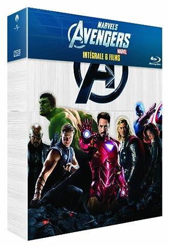 Captain America Film - Intégrale Marvel : Avengers + Iron Man