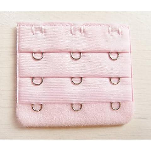 Prolunga Dos di sostegno Gola 3ganci 5,5cm di larghezza rosa
