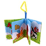 Best Book For 2 Year Old Boys - Zibuyu Baby Soft Cloth Book Newborn Infant Rustle Review