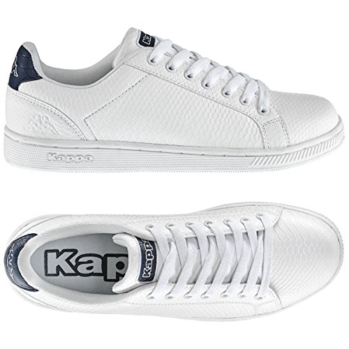 Kappa Kappa GALTER 4 BLACK White-Blue Marine