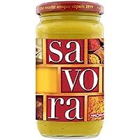 Savora Sauce Condiment Moutarde Epice Aromate Amora Bocal 385g