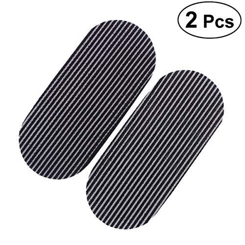 FRCOLOR 2 Unids Gripers Pelo M gico Sin Pelo Peluquer a Pinzas para el Cabello Pegatinas de Pelo Negro