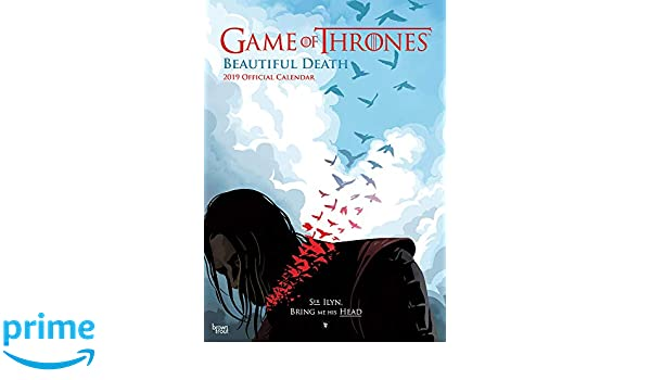 Game Of Thrones Beautiful Death 2019 A3 Poster Calendar