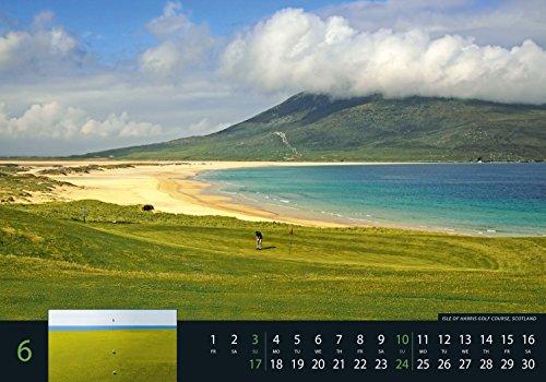 Golf 2018 - Sportkalender / Golfkalender international (49 x 34) - 8