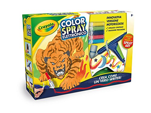 Crayola- color spray elettronico, multicolore, 25-6806