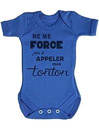 TRS - Ne me force pas a appeler mon Tonton Body bébé 100% Coton