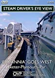 Steam Driver's Eye View - 'Britannia' Goes West (Exeter - Plymouth - Par)