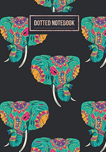 Dotted Notebook: Elephants Design | Work Book, Planner, Dotted Pattern Notebook, Bullet Journal, Sketch Book, Math Book, Dot Grid Book For Everyday Use | 150 pages: Volume 34 (Dot paper)