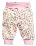 Schnizler Kinder Pump-Hose aus 100% Baumwolle, komfortable und hochwertige Baby-Hose mit elastischem Bauchumschlag, mit Blumen-Muster