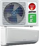 Zephir Climatizzatore INVERTER Motore e Split 12000BTU Pompa di Calore Classe SCOP A+ / A++ Raffreddamento SEER A+