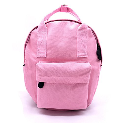 Mefly Scuola media zainetto Round Borsa a Tracolla Grigio scuro Pink
