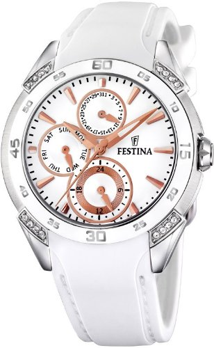 FESTINA SRA.ACE-CIRC.COR.ESF.PLATA.(BR) Women's watches F16394/3