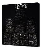 Tuxedo - Jean Michel Basquiat - Art Leinwandbild - Kunstdrucke - Gemälde Wandbilder